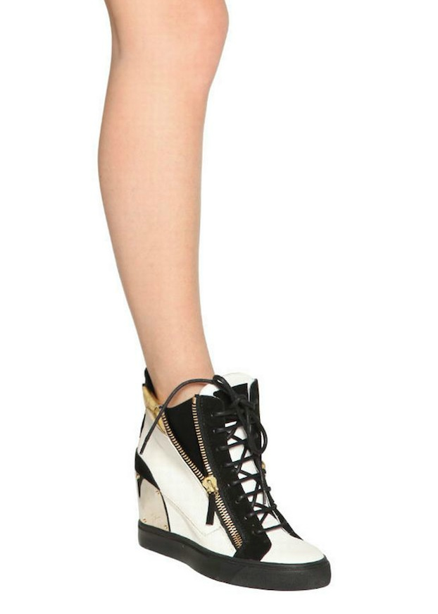 Giuseppe-Zanotti-90MM-Calfskin-And-Suede-Wedge-Womens-Sneakers-4
