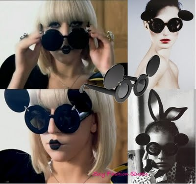 lady gaga paparazzi jeremy scott sunglasses